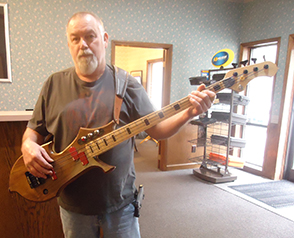 Jimmy Strickland Bass Guitar