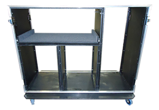 Front & Back Lift Off Lid Case With Rack Rails