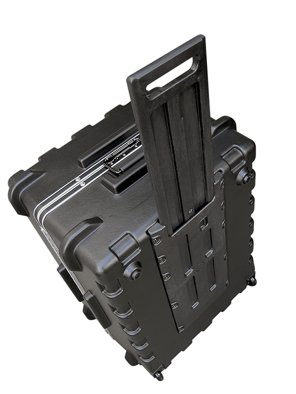 SKB MR Series Protective Transport Cases with Pull Handle and Quite Glide Wheels