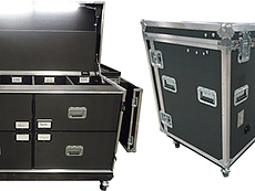 Custom Backstage Cases With Lighting | US Case