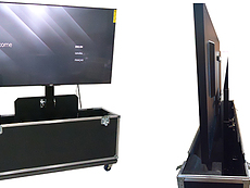 Custom Monitor Cases With Electric Lift | US Case